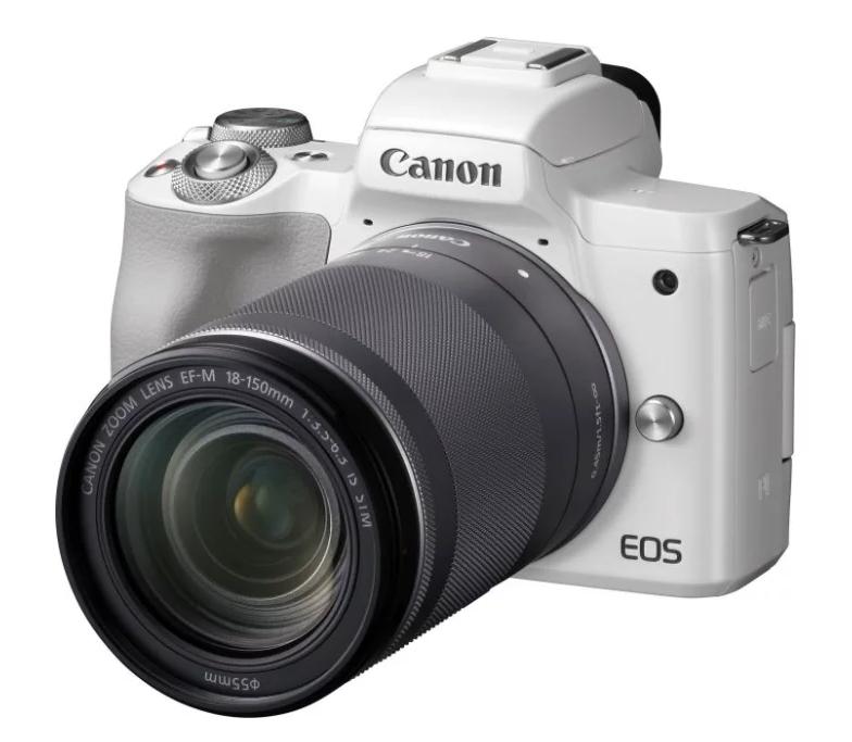 Фотоаппарат со сменной оптикой Canon EOS M50 Kit для начинающих