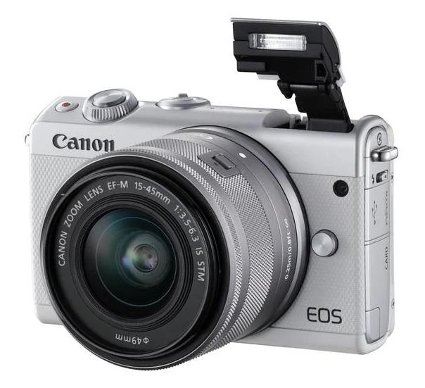 Фотоаппарат со сменной оптикой Canon EOS M100 Kit для начинающих