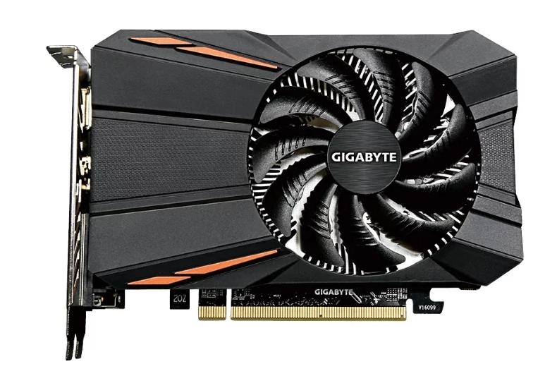 GIGABYTE Radeon RX 550 1183MHz PCI-E 3.0 2048MB 7000MHz 128 bit DVI DisplayPort HDMI HDCP