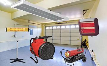 Выбор тепловой пушки для гаража