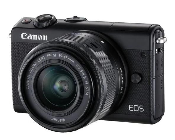 беззеркальный fotoapparat-canon-eos-m100-kit