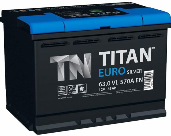 TITAN EURO SILVER 63 А/ч 630 A