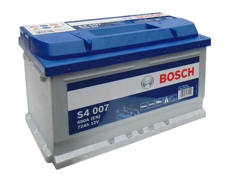 Bosch Silver S4007 72 А/ч 680 A