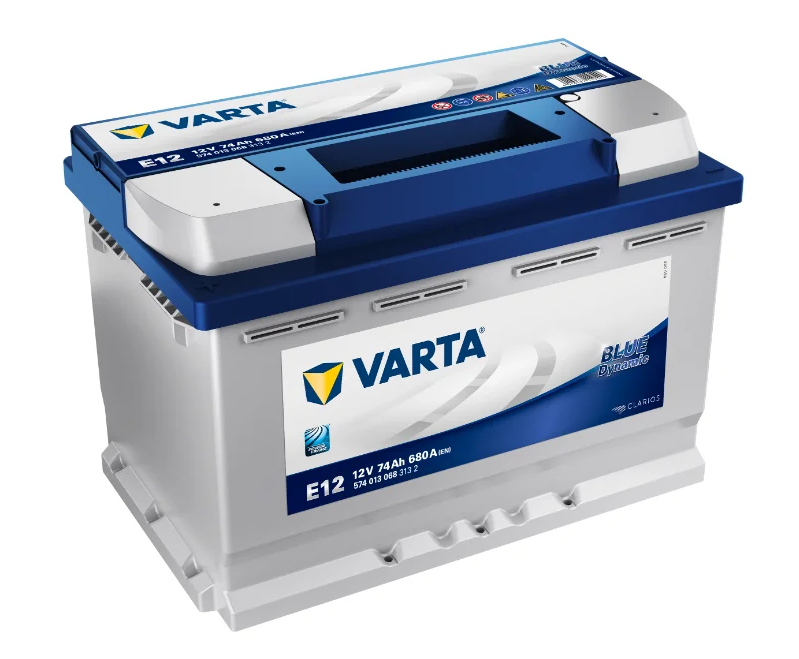 Varta Blue Dynamic E12 74 А/ч 680 A