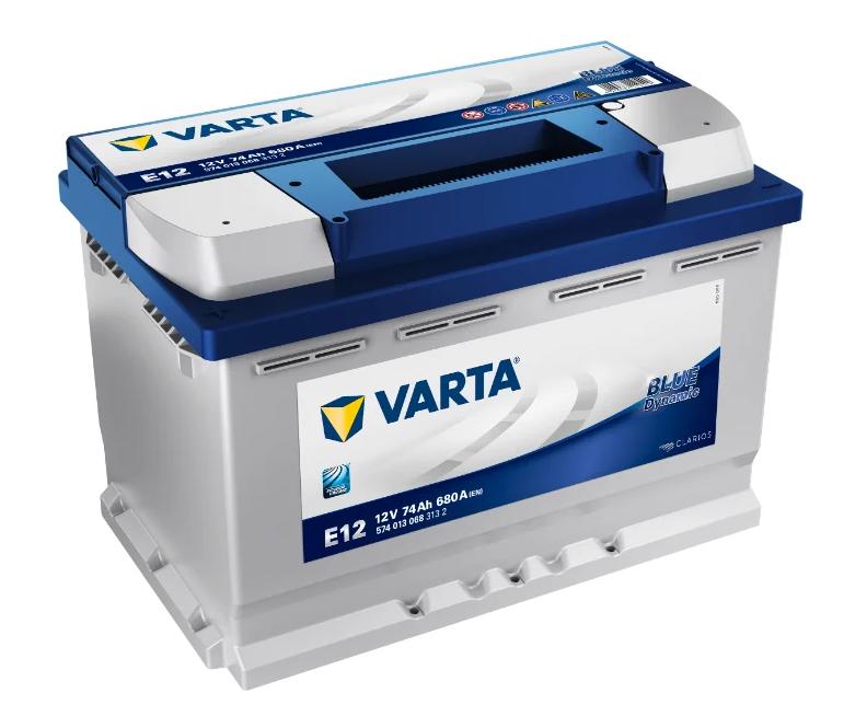 VARTA Blue Dynamic E12 для зимы