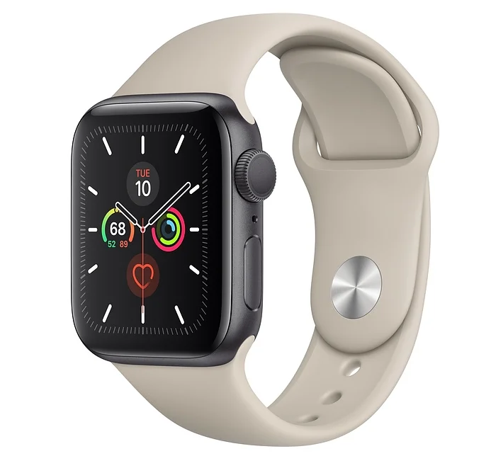 Apple Watch Series 5 GPS 44mm Aluminum Case with Sport Band с нфс