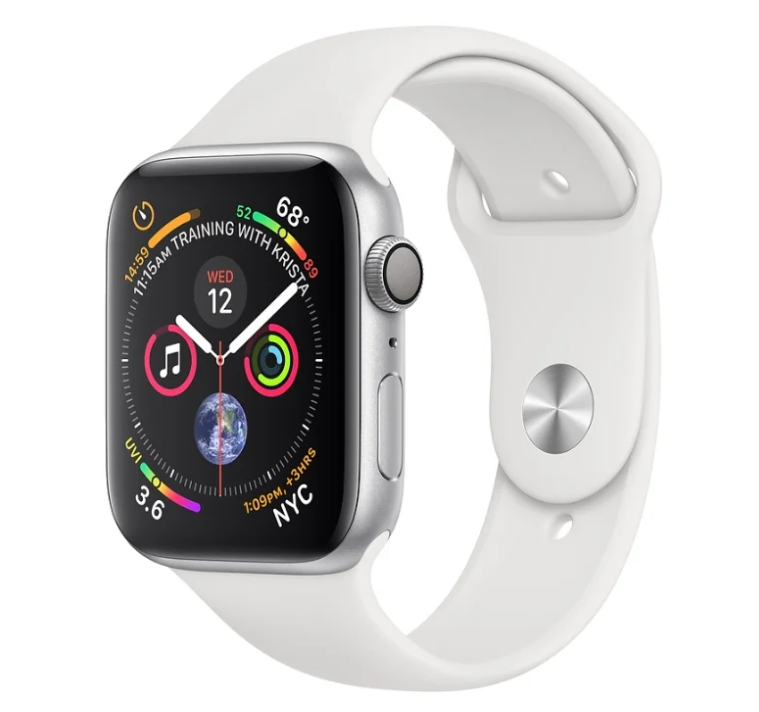 Apple Watch Series 4 GPS 40mm Aluminum Case with Sport Band с нфс