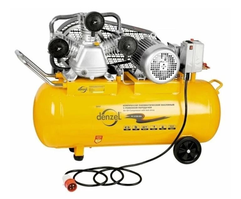 Denzel PC 3/100-504, 100 л, 3 кВт