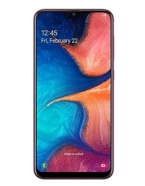 Samsung Galaxy A20 с нфс до 15