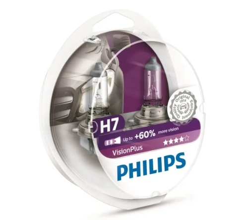 Philips Vision Plus 12972VPS2 H7 55W 2 шт.