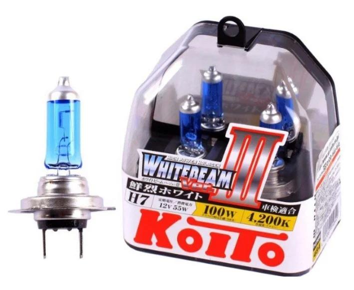KOITO Whitebeam III H7 P0755W 4200K 12V 55W (100W) 2 шт.