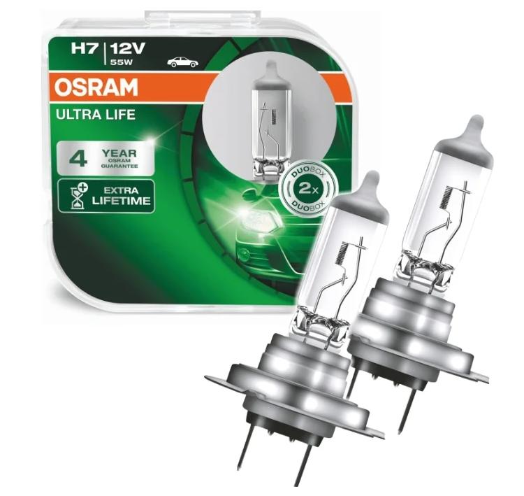 Osram ULTRA LIFE H7 64210ULT-HCB 12V 55W 2 шт.