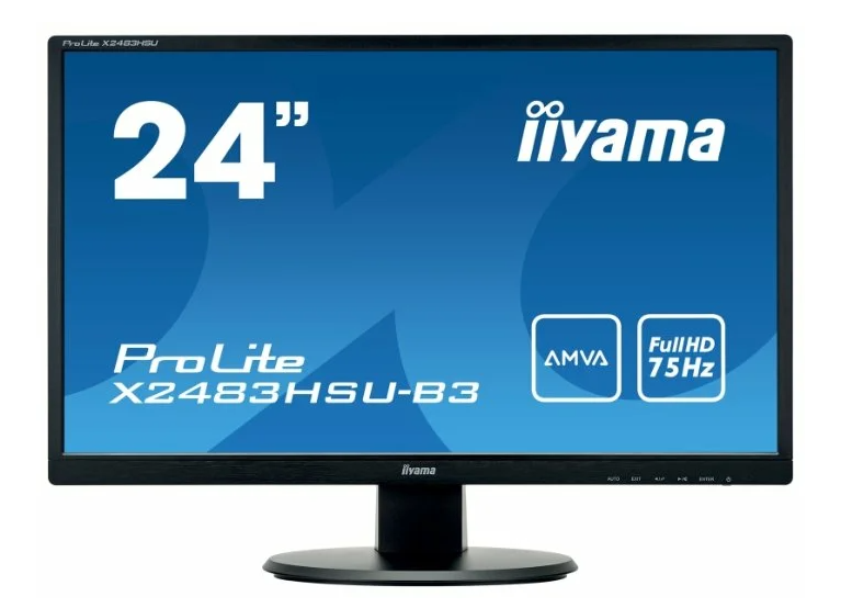 "недорогой Iiyama ProLite X2483HSU-B3 23.8"""