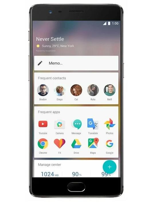 модель OnePlus 3T