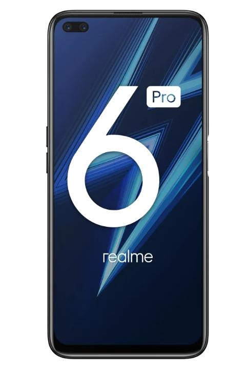 realme 6 Pro с экраном 90