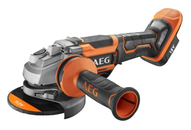 AEG BEWS 18-125BLPX-0 коробка, 18 В, 125 мм, AEG PRO18V