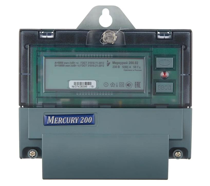 INCOTEX Меркурий 200.02 (2 тарифа) 5(60) А