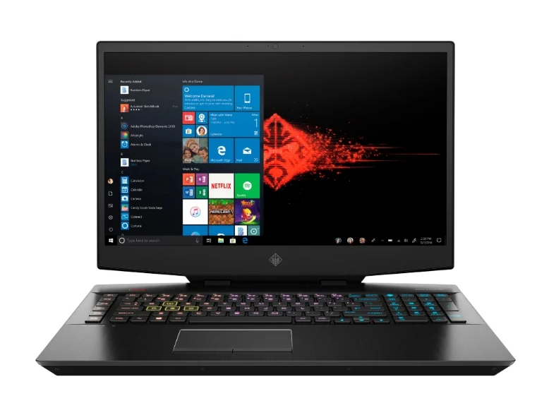 "HP OMEN 17-cb1041ur (Intel Core i9 2400MHz/17.3""/1920x1080/32GB/512GB SSD/1000GB HDD/DVD нет/NVIDIA GeForce RTX 2080 Super 8GB/Wi-Fi/Bluetooth/Windows 10 Home)"