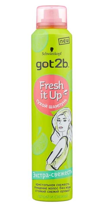 Got2b Fresh it Up Экстра-свежесть Лёгкий и свежий, 200 мл