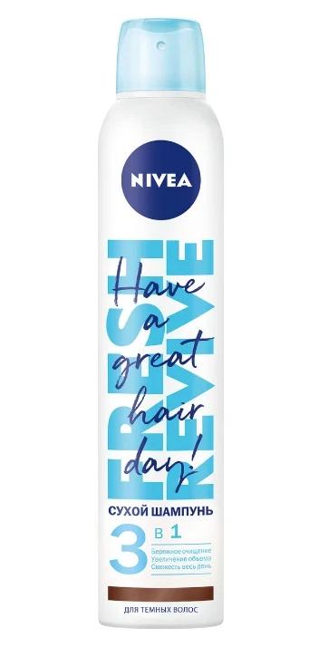 Nivea Fresh Revive 3 в 1 для темных волос, 200 мл