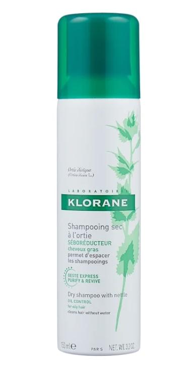 Klorane сухой с экстрактом крапивы, 150 мл