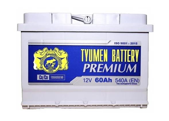 TYUMEN BATTERY PREMIUM 6СТ-60L