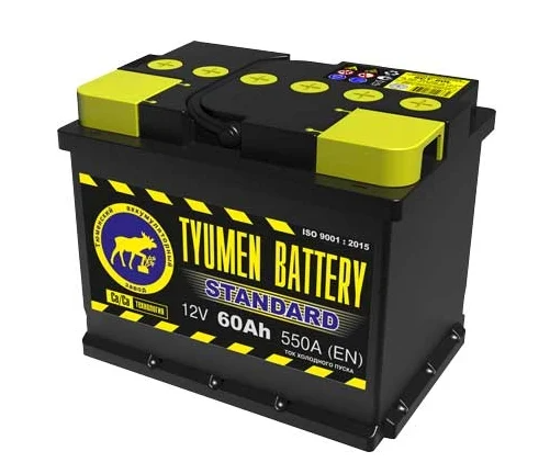 TYUMEN BATTERY STANDARD 6CT-60L 550А