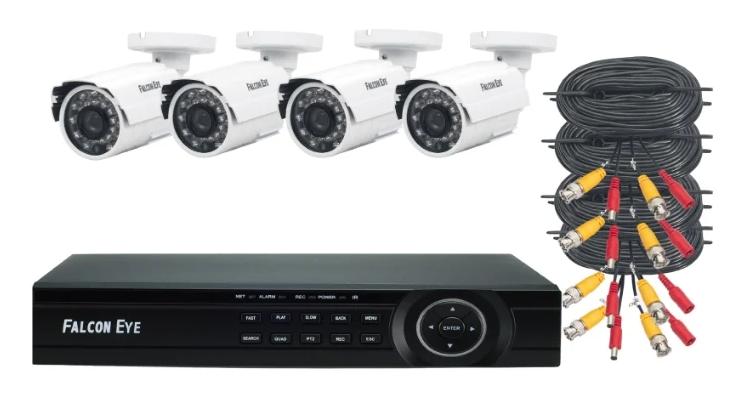 Falcon Eye FE-104MHD KIT ДАЧА 4 камеры