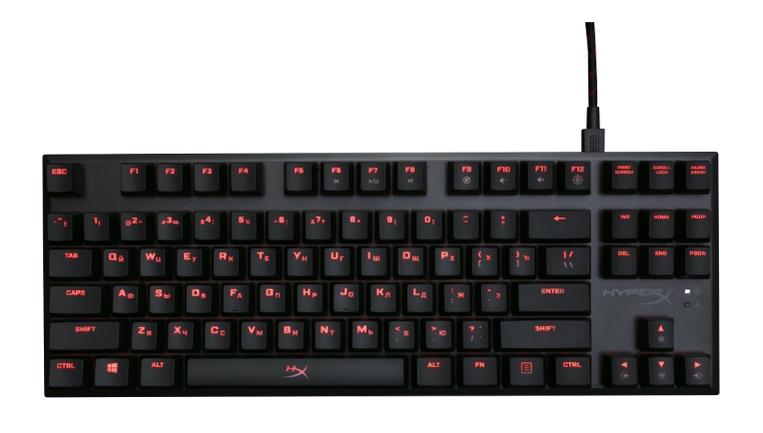 HyperX Alloy FPS Pro (Cherry MX Red) Black USB