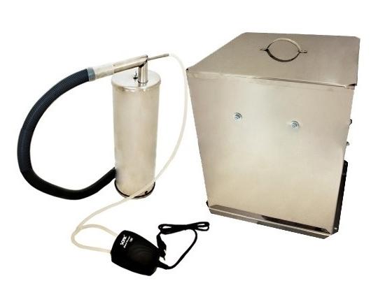 Дым Дымыч нержавеющая сталь, модель 02М