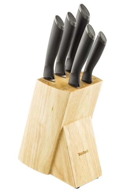 Tefal Comfort K221SA14, 5 ножей с подставкой