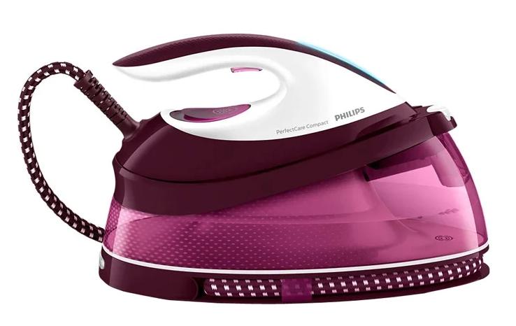 Philips GC7808/40 PerfectCare Compact розовый/белый