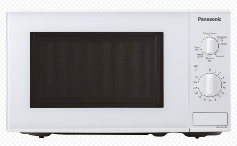бюджетная недорогая Panasonic NN-SM221W