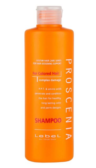 Lebel Cosmetics шампунь Proscenia для окрашенных волос, 300 мл