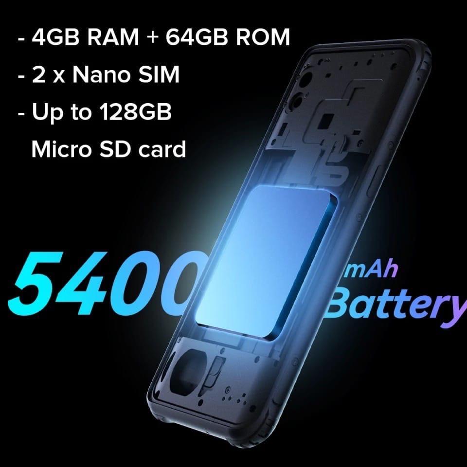 батарея смартфона AGM H3